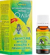 """Духи, Парфюмерия, косметика Композиция эфирных масел """"Защита от мух и комаров в помещении"""" - Адверсо"""