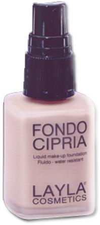 Тональна основа з пудровим ефектом - Layla Cosmetics Fondo Cipria Liqid Foundation — фото N1