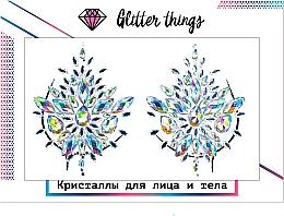 "Духи, Парфюмерия, косметика Кристаллы для лица и тела ""Алмазные лепестки"" - Glitter Things"