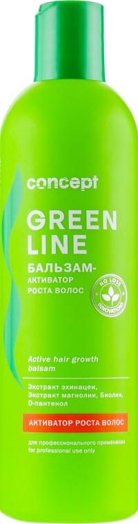 Бальзам-активатор роста волос - Concept Green Line Active Hair Growth Balsam