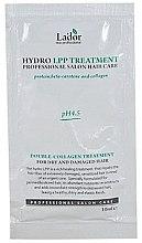 Духи, Парфюмерия, косметика Восстанавливающая маска для волос - La'dor Eco Hydro Lpp Treatment (пробник)