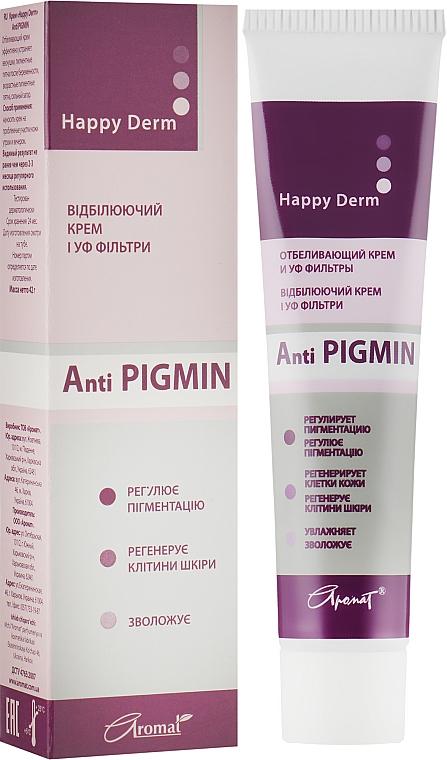Отбеливающий крем-бальзам - Аромат Anti Pigmin