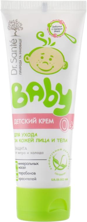 Детский крем для защиты и ухода за кожей лица и тела - Dr. Sante Baby — фото N2