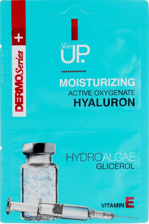 Увлажняющая маска для лица с гиалуроновой кислотой, зелеными водорослями и витамином Е - Verona Laboratories DermoSerier Skin Up Face Mask