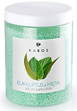 Парфумерія, косметика Сіль для ванн для ніг - Kabos Eucalyptus & Mint Foot Bath Salt