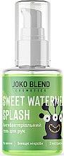 Духи, Парфюмерия, косметика Антисептик-гель для рук - Joko Blend Black Sweet Watermelon Splash Anti-Bacterial Hand Gel