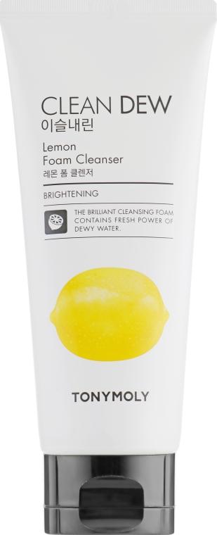 Пенка для умывания с экстрактом лимона - Tony Moly Clean Dew Foam Cleanser Lemon