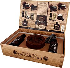 Духи, Парфюмерия, косметика Dear Barber IV Shave Care Collection - Набор (shave/cr/100ml + shave/oil/30ml + edt/30ml)