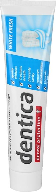 Зубная паста отбеливающая - Dentica Dental Protection White Fresh