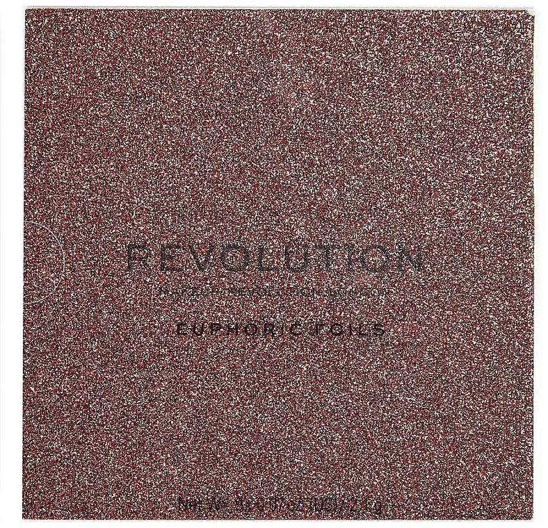Палетка теней для век - Makeup Revolution Euphoric Foil Eyeshadow Palette