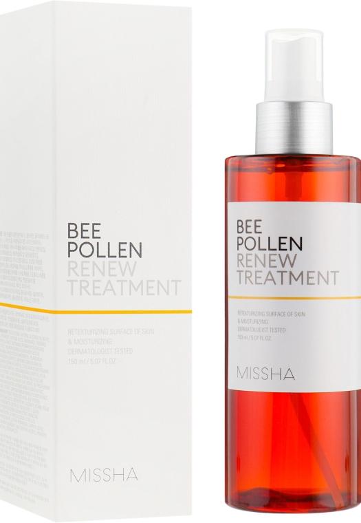 Тоник для лица обновляющий - Missha Bee Pollen Renew Treatment