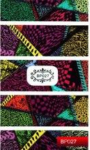 Духи, Парфюмерия, косметика Наклейка для дизайна ногтей - Kodi Professional Nail Art Stickers BP027