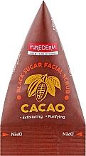 Духи, Парфюмерия, косметика Скраб для лица с какао - Purederm Black Sugar Facial Scrub Cacao