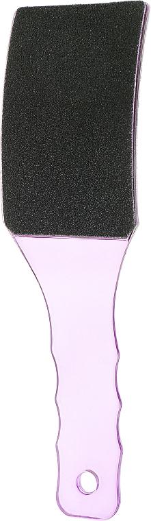 Пилка для ног вогнутая, P 41288, фиолетовая - Omkara