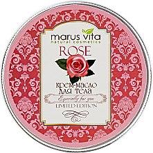 "Духи, Парфюмерия, косметика Крем-масло для тела ""Роза"" - Marus Vita Body Cream"