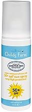 Духи, Парфюмерия, косметика Солнцезащитный лосьон для тела - Childs Farm Sun Lotion Spray Unfragranced SPF 50