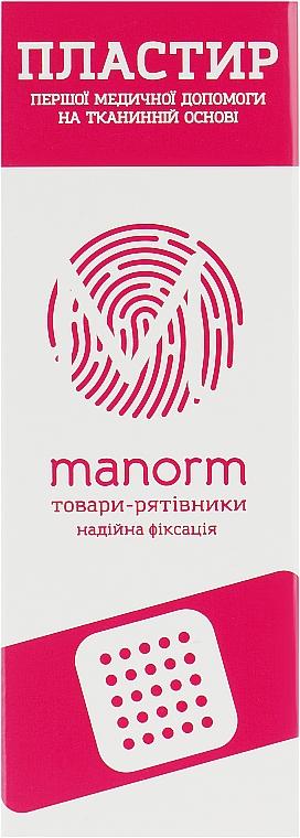 Пластырь первой медицинской помощи на тканой основе - Manorm