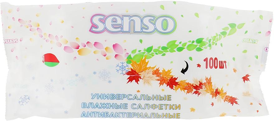 Влажные салфетки «Universal Wet Wipes», без клапана, 100 шт - Senso