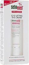 Духи, Парфюмерия, косметика Крем-лифтинг для кожи вокруг глаз с коэнзимом Q10 - Sebamed Anti-Ageing Q10 Lifting Eye Cream