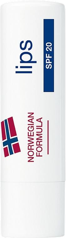 """Защитная помада для губ """"Норвежская формула"""" - Neutrogena Norwegian Formula Lipcare SPF20"""