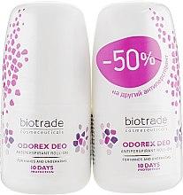 Парфумерія, косметика Набір кулькових антиперспірантів - Biotrade Odorex (deo/2x40ml)