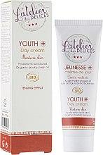 Духи, Парфюмерия, косметика Восстанавливающий крем с подтягивающим эффектом - L'Atelier des Délices Youth+ Day Cream