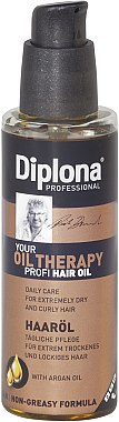Флюид с аргановым маслом для очень сухих и ломких волос - Diplona Professional Oil Therapy Oil
