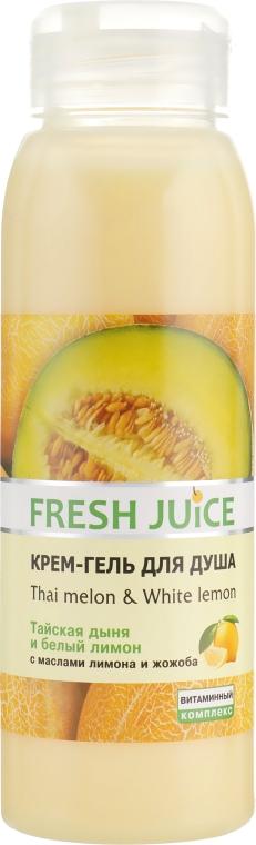 """Крем-гель для душа """"Тайская дыня и Белый лимон"""" - Fresh Juice Thai Pleasure Thai Melon & White Lemon"""