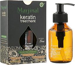 Духи, Парфюмерия, косметика Кератиновое масло для волос - Marjinal Keratin Hair Treatment