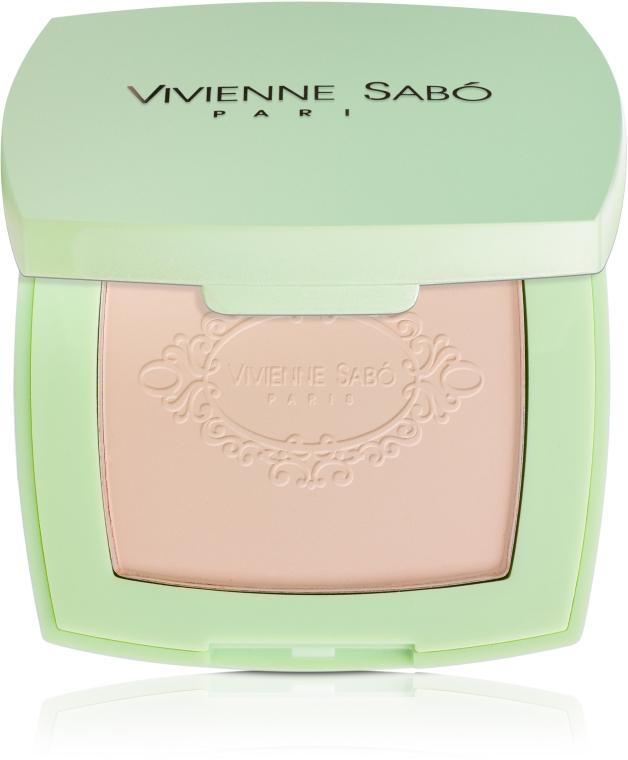 Пудра компактная против недостатков кожи - Vivienne Sabo Ideal Sublime Compact Powder