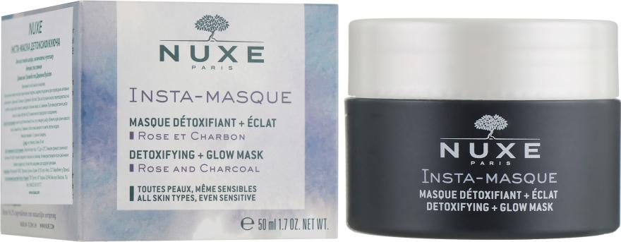 Детоксифицирующая маска для сияния кожи лица - Nuxe Insta-Masque Detoxifying