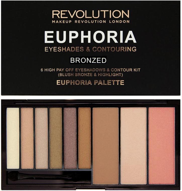 Комбинированная палетка для макияжа - Makeup Revolution Euphoria