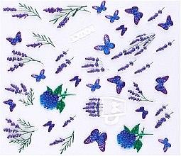 Парфумерія, косметика Наклейки для нігтів 3D, LX - Vizavi Professional