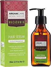 """Духи, Парфюмерия, косметика Сыворотка для волос """"Поврежденные кончики"""" - ArganiCare Macadamia Hair Serum for Dry & Damaged Hair"""