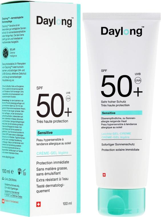 Солнцезащитный гель-крем для чувствительной кожи - Daylong Sensitive Gel-Creme SPF 50+