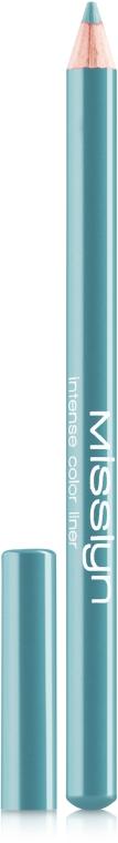 Олівець-підводка для очей - Misslyn Intense Color Eyeliner Pencil — фото N1
