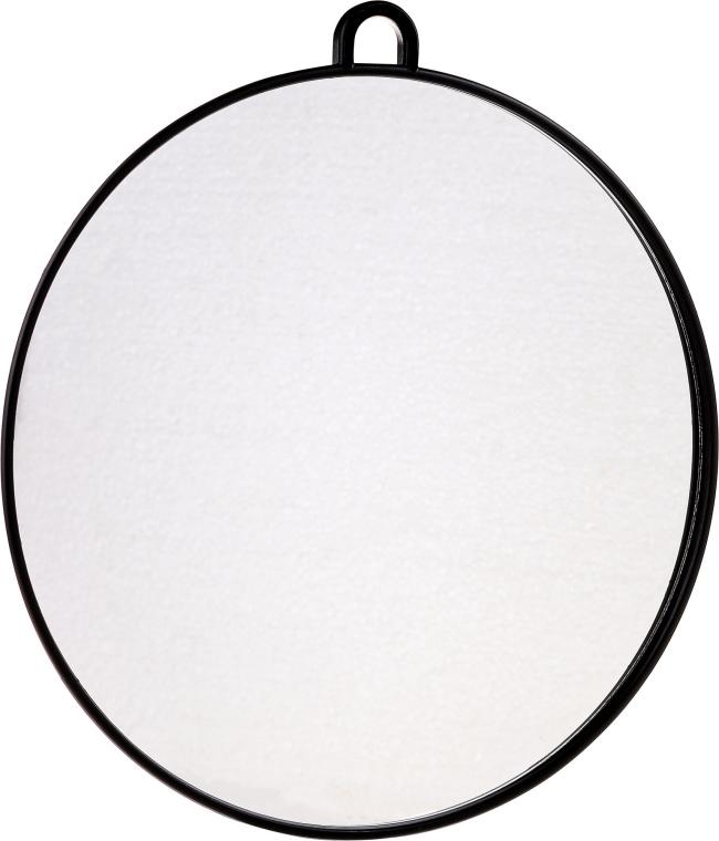 Парикмахерское зеркало 29 см, черное - Lussoni Back Round Mirror