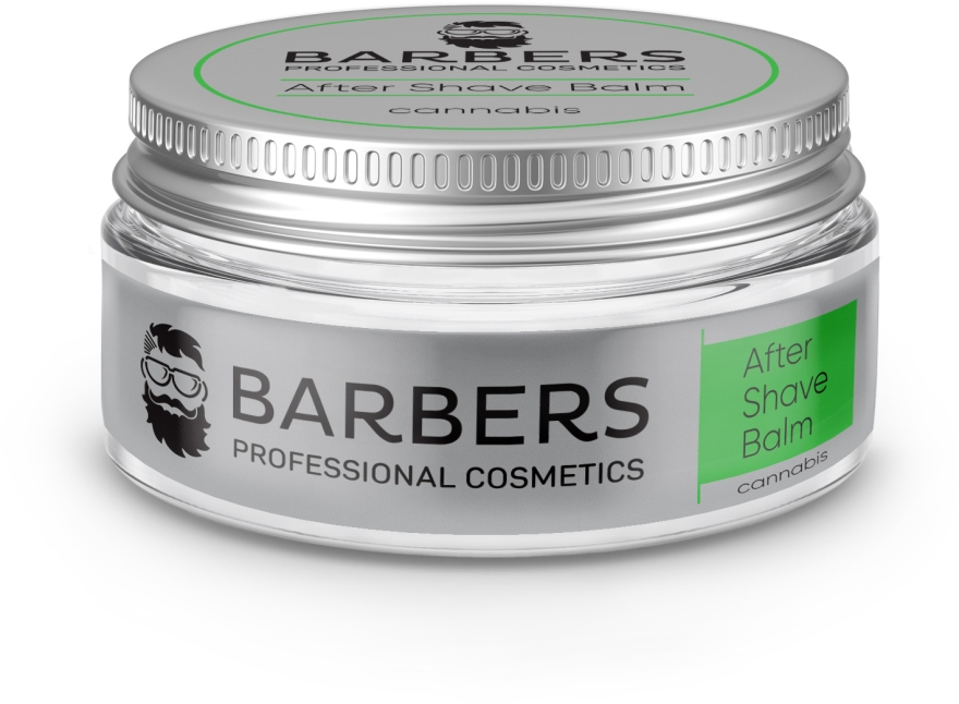 Бальзам после бритья с конопляным маслом - Barbers Cannabis After Shave Balm