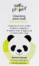 """Духи, Парфюмерия, косметика Тканевая маска для лица """"Панда"""" - Maurisse Selfie Project Cleansing Sheet Mask"""