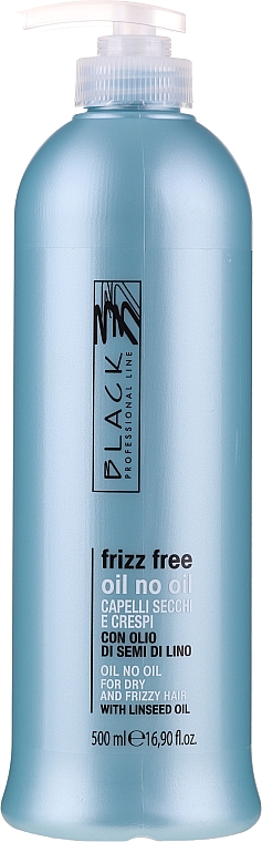 """Флюид для выпрямления волос """"Масло без масла"""" для непослушных волос - Black Professional Line Anti-Frizz"""