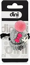 "Духи, Парфюмерия, косметика Резинка для волос ""Шапка"", d-006, серая - Dini Hand Made"