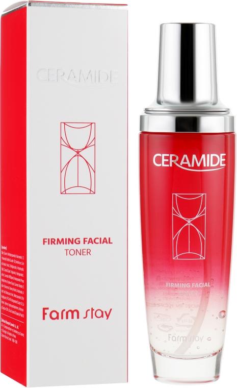 Укрепляющий тонер для лица с керамидами - FarmStay Ceramide Firming Facial Toner