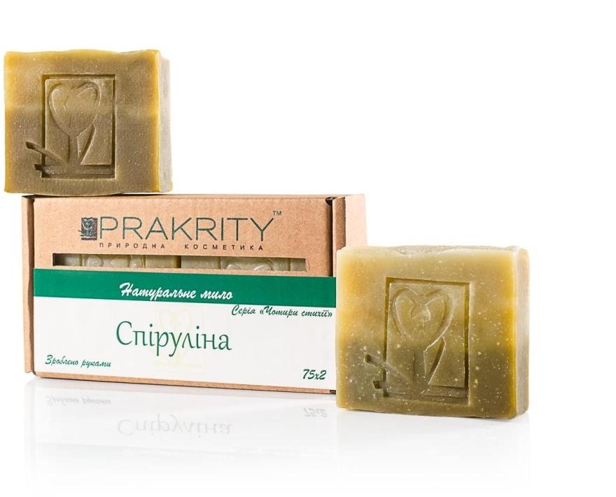 "Натуральное мыло ""Спирулина"" - Prakrity"