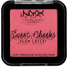 Парфумерія, косметика Сяйні рум'яна - NYX Professional Makeup Sweet Cheeks Glow Blush