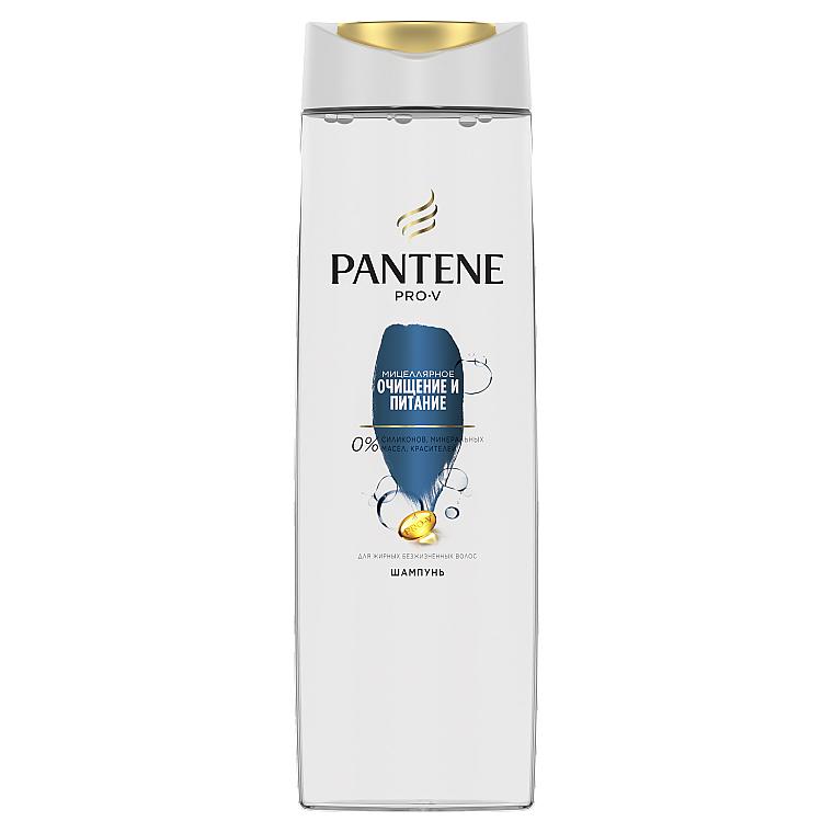 """Шампунь для волос """"Мицеллярное очищение и питание"""" - Pantene Pro-V"""