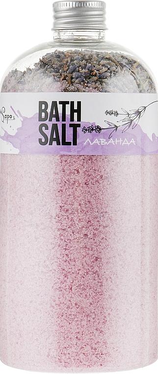 """Соль для ванны с травами """"Лаванда"""" - Sapo"""