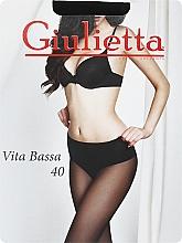 """Духи, Парфюмерия, косметика Колготки для женщин """"Vita Bassa"""" 40 Den, nero - Giulietta"""
