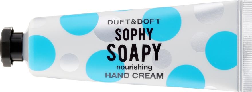 Питательный крем для рук - Duft & Doft Nourishing Hand Cream Sophy Soapy