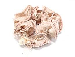 Духи, Парфюмерия, косметика Резинка для волос P25888-1, 9 см d-5,5 см, розовая - Akcent