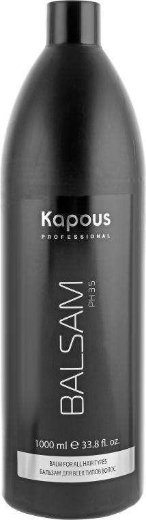 Бальзам для всех типов волос - Kapous Professional Balm For All Hair Types